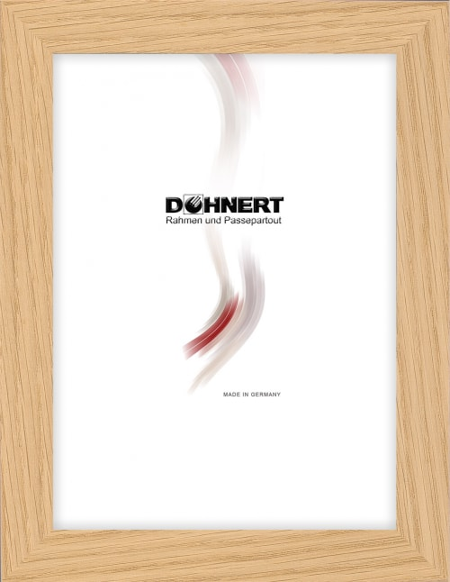 Sonderanfertigung Holzrahmen 20055, eiche, beige dunkel