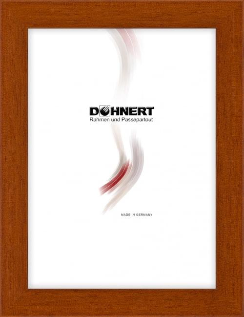 Sonderanfertigung Holzrahmen 20035, haselnuss